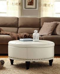 Large Leather Storage Ottoman Coffee Table by Sofa Storage Ottoman Bench Large Square Ottoman Leather Ottoman