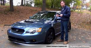 silver subaru legacy 2017 review 2005 subaru legacy gt youtube