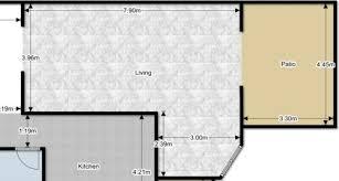 Dining Room Furniture Layout Furniture Arrangement In L Shaped Living Dining Room