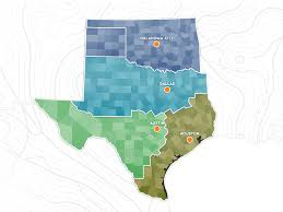 Dallas Texas Map Environmental Improvements Inc Your Avenue To Water