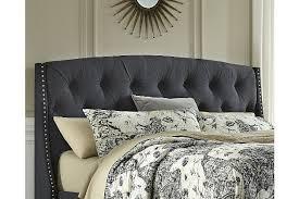 kasidon queen upholstered headboard ashley furniture homestore