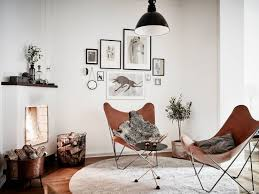 Home Needs 5 Leather Chairs That Your Home Needs Butterfly Chair Leather