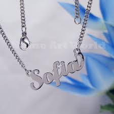 stainless steel name necklace images Sofia name necklaces stainless steel next day ship never jpg