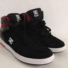 Sepatu Dc jual beli sepatu casual sneakers skateboard dc nyjah high black