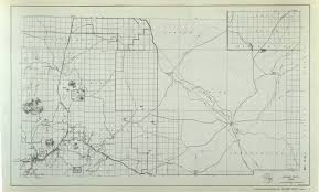 Winslow Arizona Map by 1937 Arizona State Highway Maps For 66