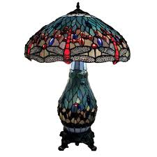 mini stained glass ls warehouse of tiffany dragonfly 26 in antique brass table l with