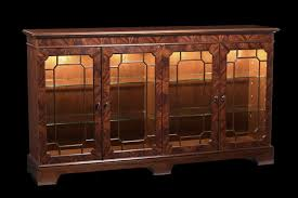 display cabinet with glass doors mahogany sideboard display cabinet paned glass doors