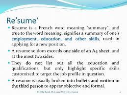Free Online Resume Builder by Enchanting Definition Of Resume For A Job 69 In Free Online Resume