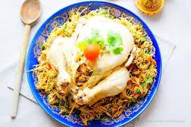 cuisine marocaine poulet farci poulet farci cuit à la vapeur aux délices du palais