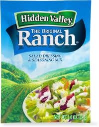 hidden valley original ranch salad dressing u0026 seasoning mix