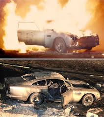 old aston martin james bond special effects behind the bond films u0027 death defying stunts