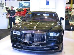 roll royce philippines cars to drool for at the manila international auto show 2014