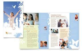 free church brochure templates for microsoft word christian church brochure template word publisher