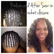 hair braid for a closure protective style sew in with crochet closure kanubia hair