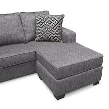 Sleeper Sofa With Storage Chaise Sterling Innerspring Sleeper Sofa With Chaise Charcoal Value