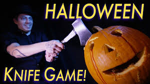 the halloween knife game song youtube