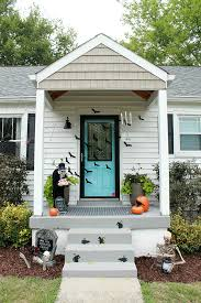 Halloween Outside Decorations Spooky Halloween Front Porch Ideas