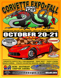 corvette expo spring and fall shows