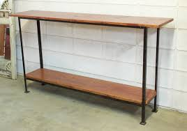 Iron Console Table Specialty Items Sp 64 Console Table With Black Angle Iron Frame