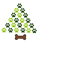 christmas paw tree svg tree svg christmas tree svg paw svg