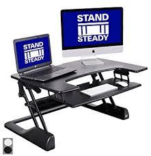 Fitbit Standing Desk Amazon Com Flexpro Precision 35 U201d Standing Desk From Award Winning