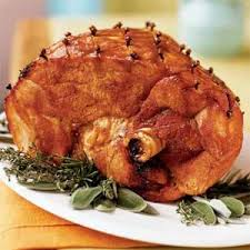 the cooker glazed ham with garnet cumberland sauce not