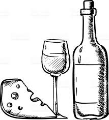 cartoon wine and cheese wine and cheese clip art clip art decoration