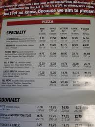 Round Table Pizza Menu Prices by Pizza Factory Oakhurst Menu Prices U0026 Restaurant Reviews