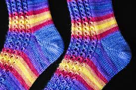 ravelry union square socks pattern by knitting expat designs