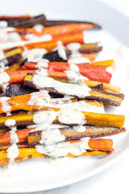 How To Make Roasted Vegetables by 20 Minute Honey Roasted Carrots With Tahini Sauce