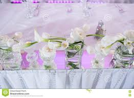 beautiful restaurant interior table decoration for wedding flower