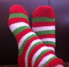 fuzzy christmas socks are these the worst christmas socks person irregular
