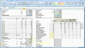 House Building Cost Spreadsheet by Cost Estimate Spreadsheet Template Haisume
