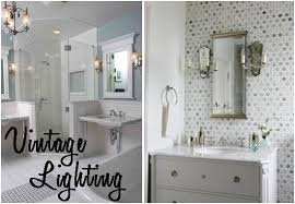 Cottage Style Bathroom Lighting Cottage Style Bathroom Lighting Farmhouse With Metal Bath Inside