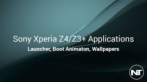boot apk sony xperia z4 z3 launcher apk ringtones wallpapers