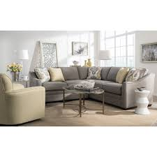 Wolf Furniture Outlet Altoona Pa by Two Piece Customizable Corner Sectional Sofa With Left Return By
