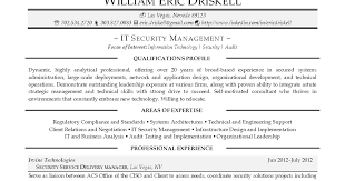 It Security Resume Interest Resume Coinfetti Co