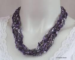 crochet ladder necklace patterns patterns kid