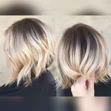 short blonde hair ombré sombre balayage 3 8 pinterest