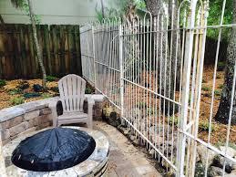 6 foot arbor gate u0026 fencing in antique white