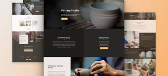 studio layout get a beautifully polished pottery studio layout pack for divi