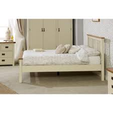 Bedroom Furniture New Hampshire Buy Birlea New Hampshire Cream And Oak High End Bed Frame Online