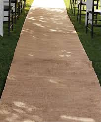 ivory aisle runner burlap aisle runners burlapfabric burlap for wedding and