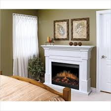 Indoor Electric Fireplace Dimplex Essex White Electric Fireplace Indoor Transitional Gds30