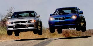 subaru vortex mitsubishi evo ix mr vs subaru impreza wrx sti which is better
