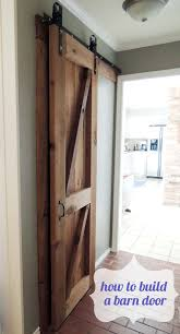 How To Build A Sliding Barn Door How To Build A Simple Sliding Barn Door Decorating Ideas Pinterest