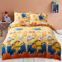 buy minions bed set and get free shipping on aliexpress com