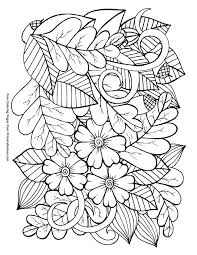 autumn colouring pages free new printable fall coloring for with