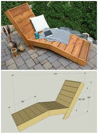 Plans For Wooden Chaise Lounge Chaise Lounges Redwood Chaise Lounge Ana White Storage Diy