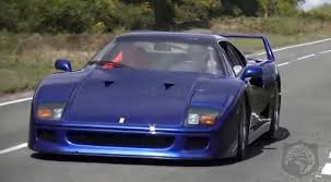 how many f40 are left what s there not to like about this de catted blue